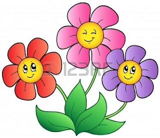 Imagenes de flores animadas