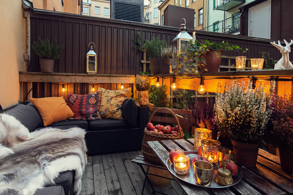 By c design deco inspiration terrasse en ville - Decoration balcon terrasse appartement ...