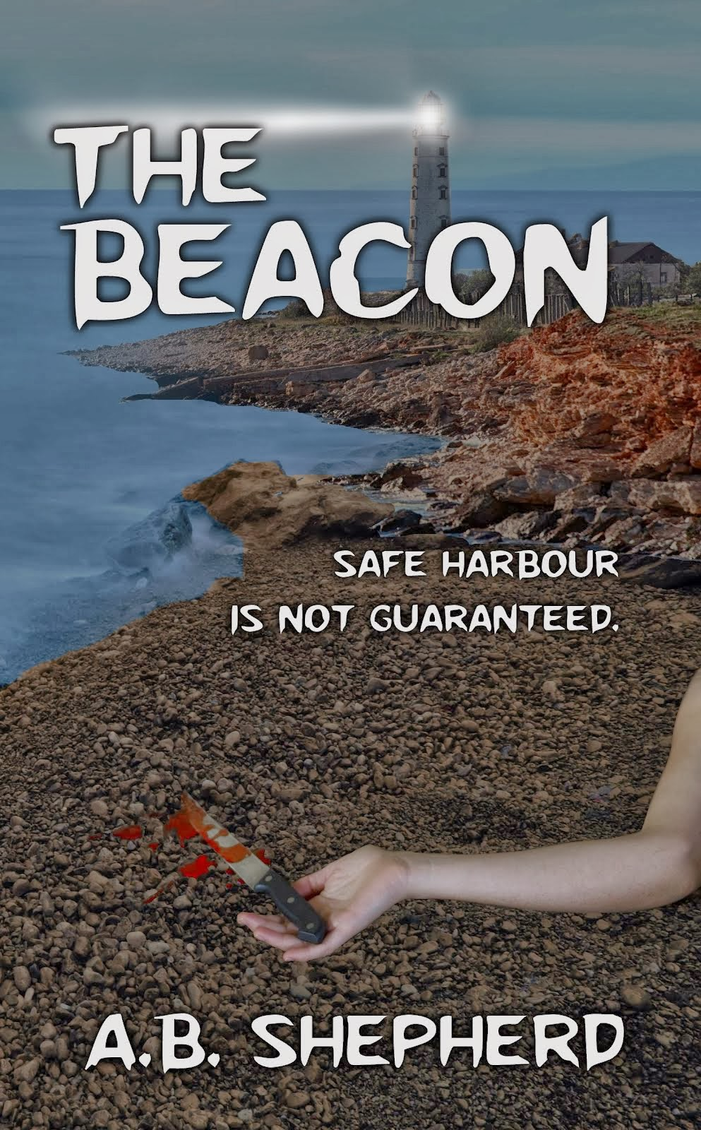 A book that will leave you questioning what is real. Safe harbor isn't guaranteed.