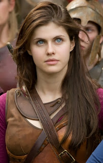The beautiful Annabeth Chase of Percy Jackson