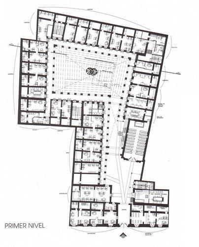 Lima la nica el hospicio ruiz d vila for Planos de oficinas administrativas