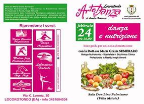 """24/02/2014 Locorotondo: """"Danza e nutrizione"""""""