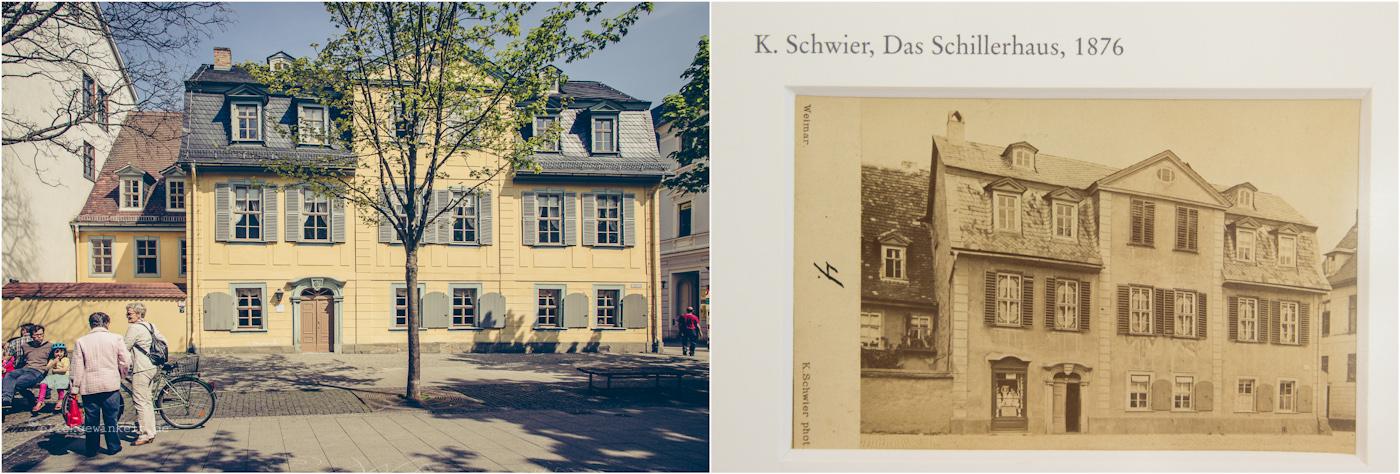 Schillers Wohnhaus, Außenansicht