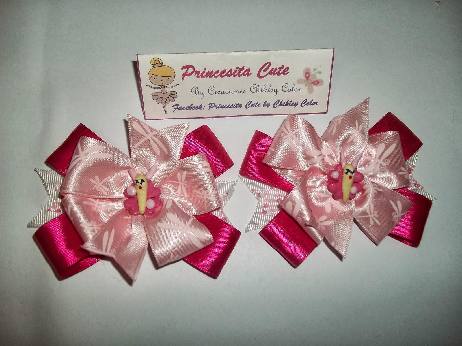 Princesita Cute by Chikley color: Lazos para Niñas