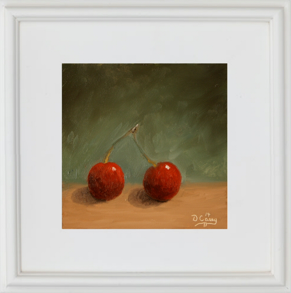 Kitchen Painting - Cherries 004a 6x6 oil on gessobord - Dave Casey - TheDailyPainter.jpg