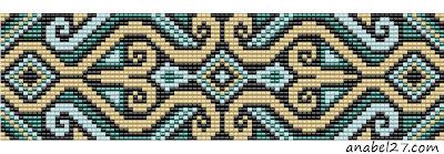 схемы для бисероплетения, ткачество, браслеты loom beading pattern beadweaving