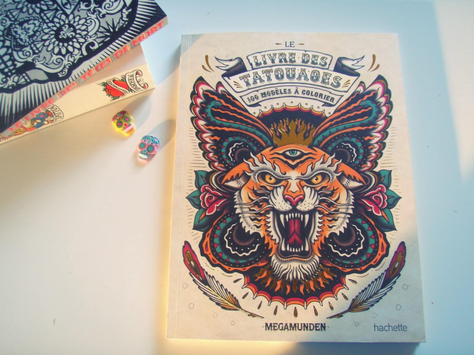 Un cahier de coloriage spécial tatouages madmoiZelle  - coloriage tatouage adulte