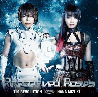 T.M.Revolution X Nana Mizuki 水樹奈々 - Preserved Roses アニメバージョン