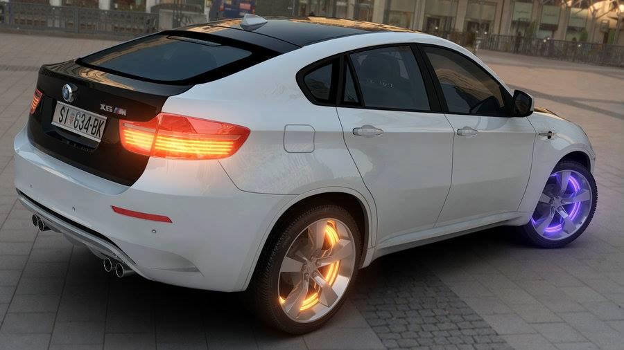 Modified Cars White Bmw X6 Modified