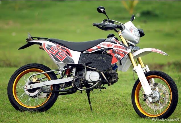Honda Win 100 Modifikasi Motor