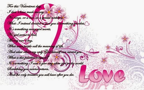 Famous Valentine's Day Poems For Friends 2014