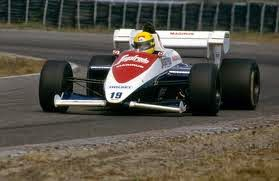 1984 Carro Ayrton Senna Fórmula 1 Toleman