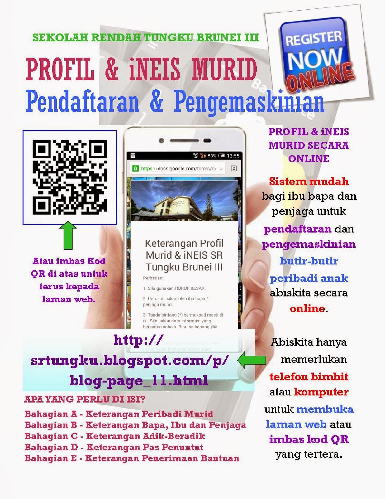 Pendaftaran Profil & iNEIS Online