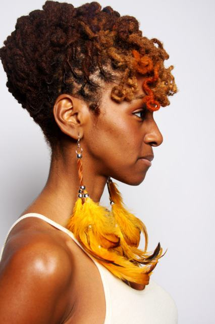 Locs with Color! | Black Women Natural Hairstyles