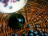 blue berry compote