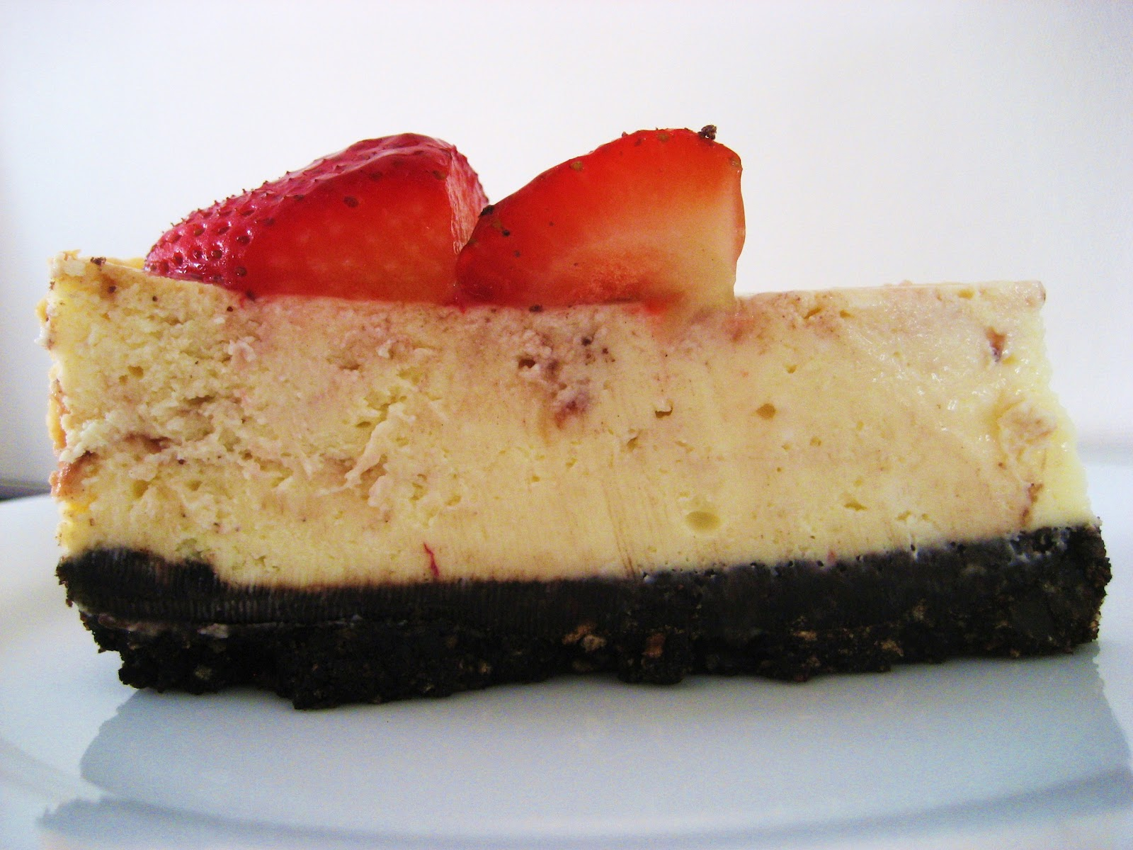 Treat a Week Recipes: White Chocolate Strawberry Cheesecake