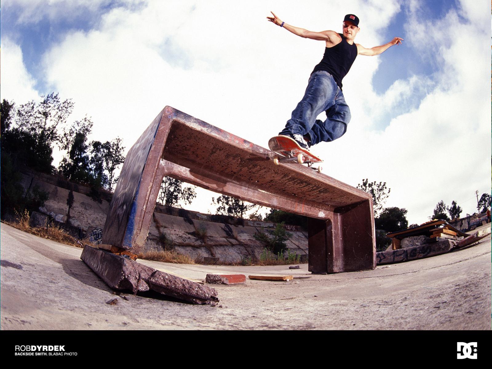 Rob Dyrdek Skateboarding