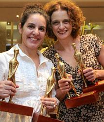 Tata Amaral e Denise Fraga no Festival de Brasília