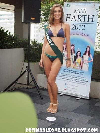 Hot Turkish Super MOdel Miss Earth