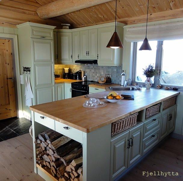 Fjellhytta interiør- og hytteblogg: Hyttekjøkken og ...