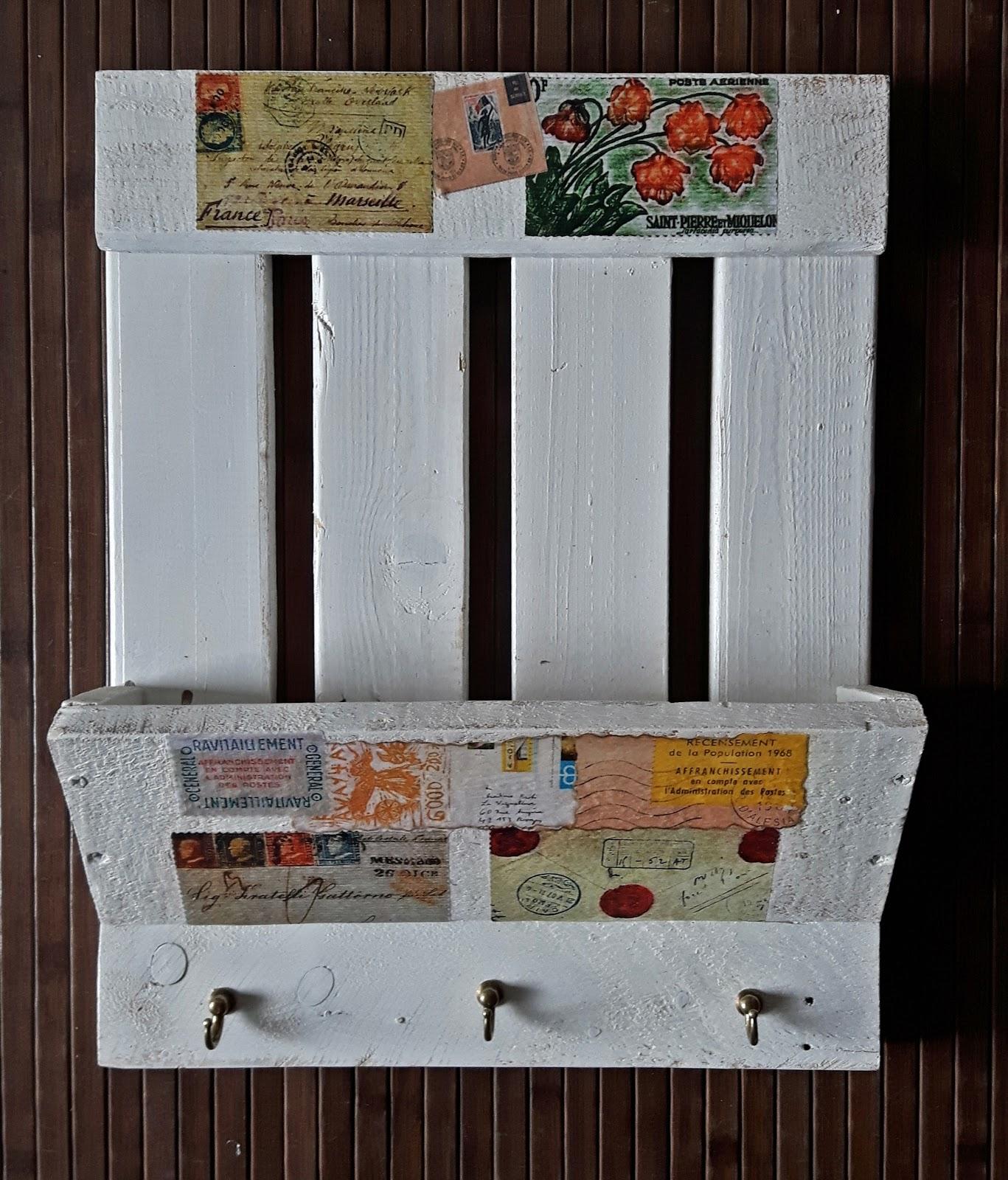 Los achiperres de montse cuadro para correo y llaves - Para colgar llaves ...