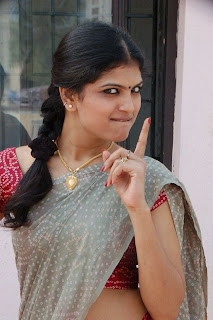 Tamil Actress Rutva Spicy Picture Gallery in Half Saree Exposing her Cute