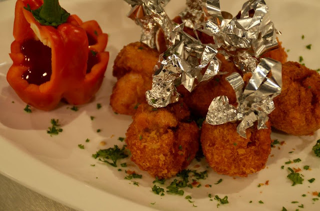 Stuffed Chicken Lollipops Recipe