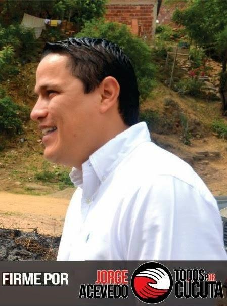Jorge Acevedo recorre los sectores más humildes de Cúcuta recogiendo firmas de apoyo para ser el candidato a Alcalde de 'Todos por Cúcuta'