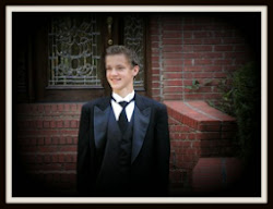 My youngest son, Kane in his tux