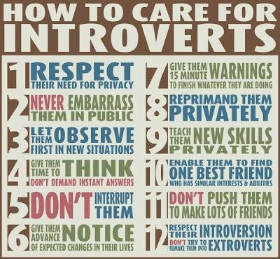 perbedaan introvert dan extrovert