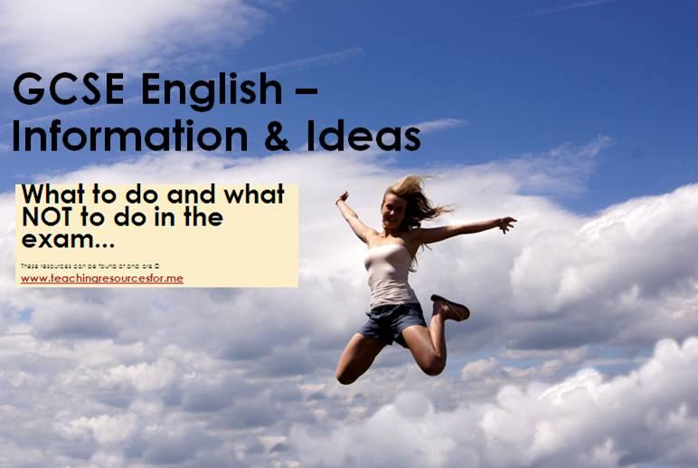 ... Awesome Story Ideas for Creative Writing for GCSE English Language