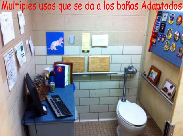 Baño Adaptado O Accesible:Multiples usos de los baños adaptados