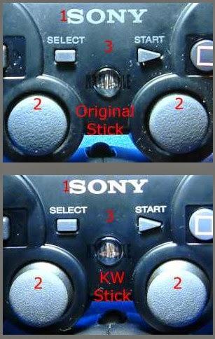 Cara Cepat Membedakan Stik Ps3 Original Atau KW