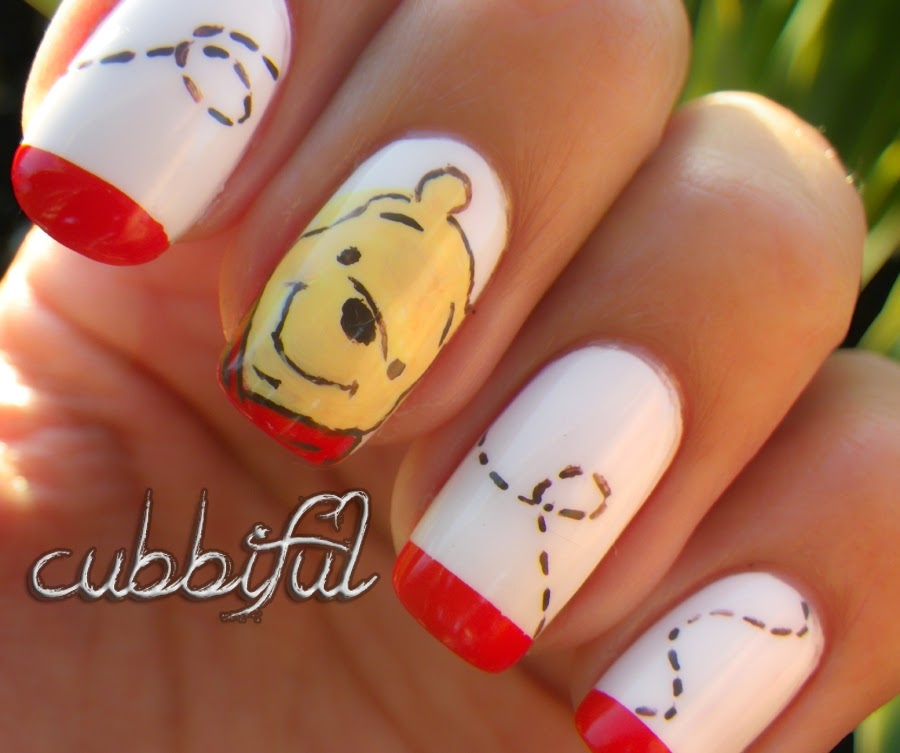 Winnie The Pooh Nails: Cubbiful: Dedicated To My Pooh