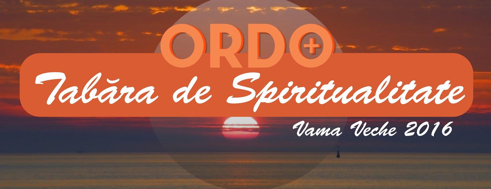 TABĂRA DE SPIRITUALITATE - VAMA VECHE - 2016