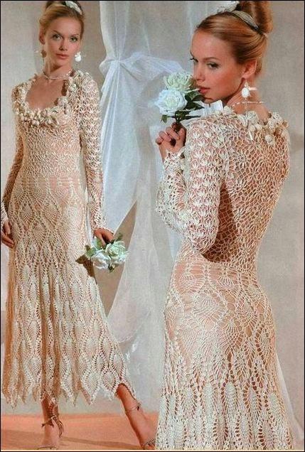 Vestido de dama muy elegante
