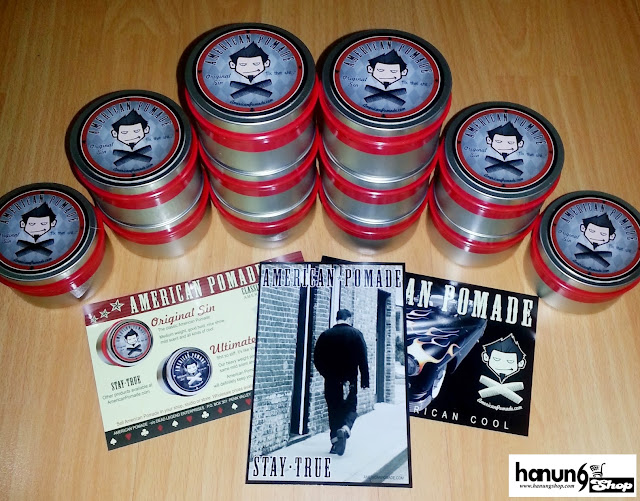 Ready Stock American Pomade Original Sin Hanung Shop