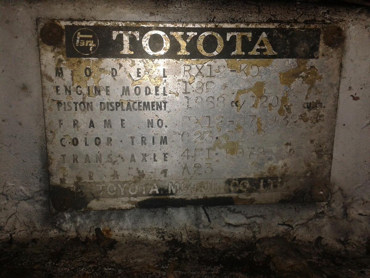 341. Samochody czytelników: Marcin - Toyota Corona Mark II (RX12). staryjaponiec blog