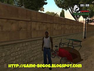 Mod Becak GTA San Andreas Indonesia