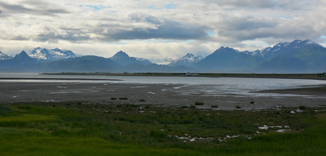 Kenai National Park Mountains