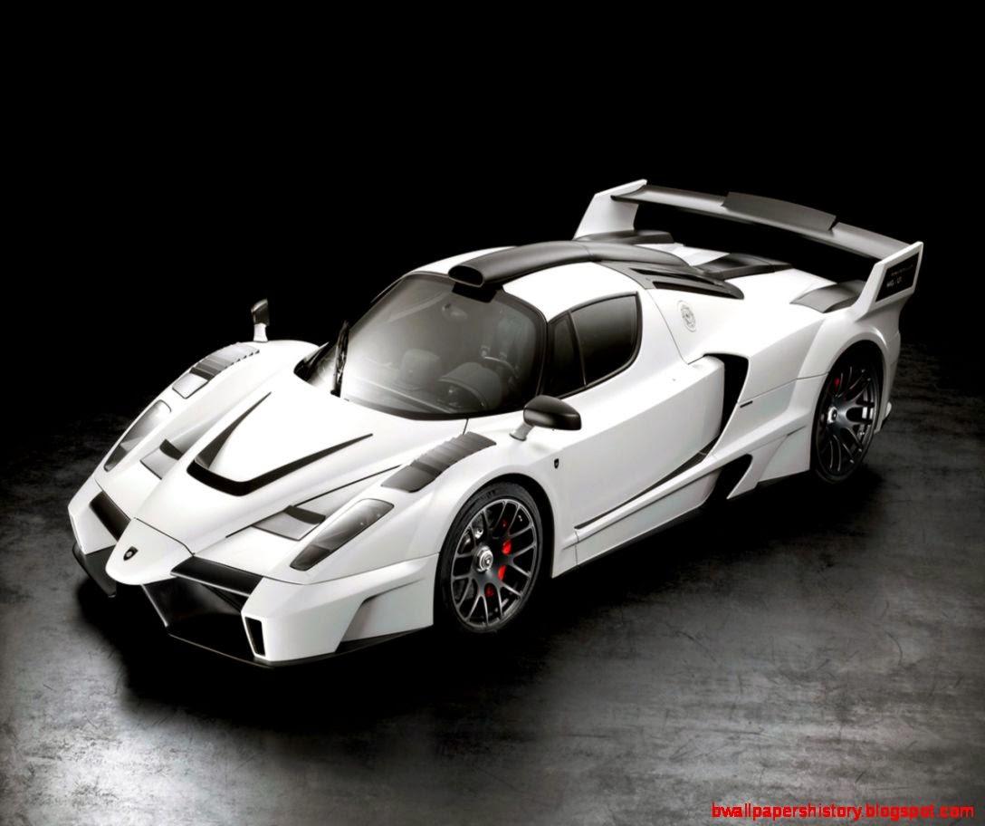 White Ferrari Enzo