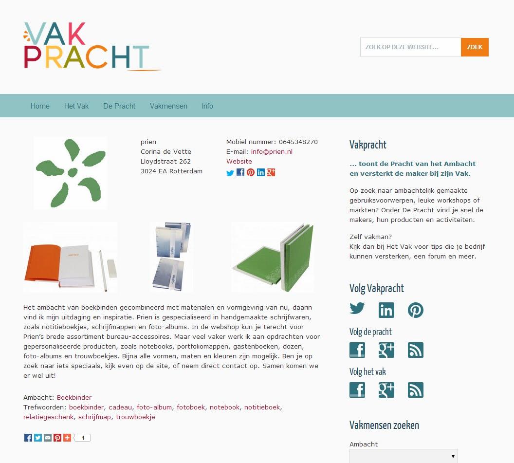 http://www.vakpracht.nl/profiel/prien/