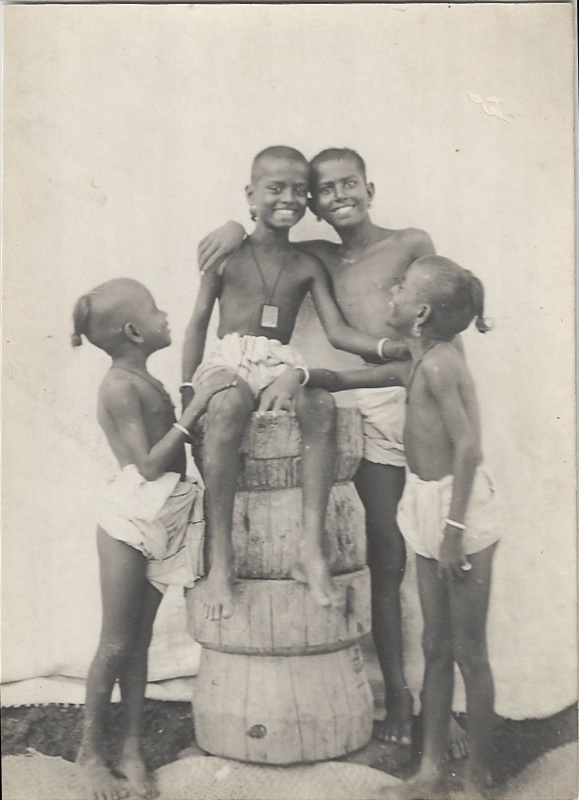 Four Indian Boys 1890 S 1900 S Old Indian Photos