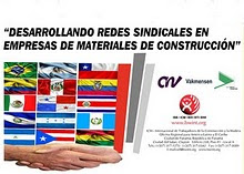 RED SINDICAL de MULTINACIONALES de MATERIALES de CONSTRUCCIÓN