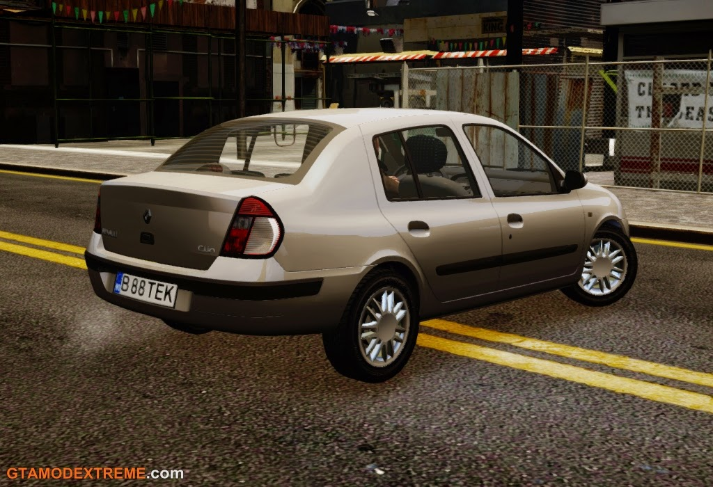 Download carro Renault Clio Expression 1.4L Para GTA IV