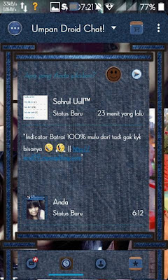 Droid Chat! v4.7.08 Blue Jeans Floating Based BBM v2.9.0.45