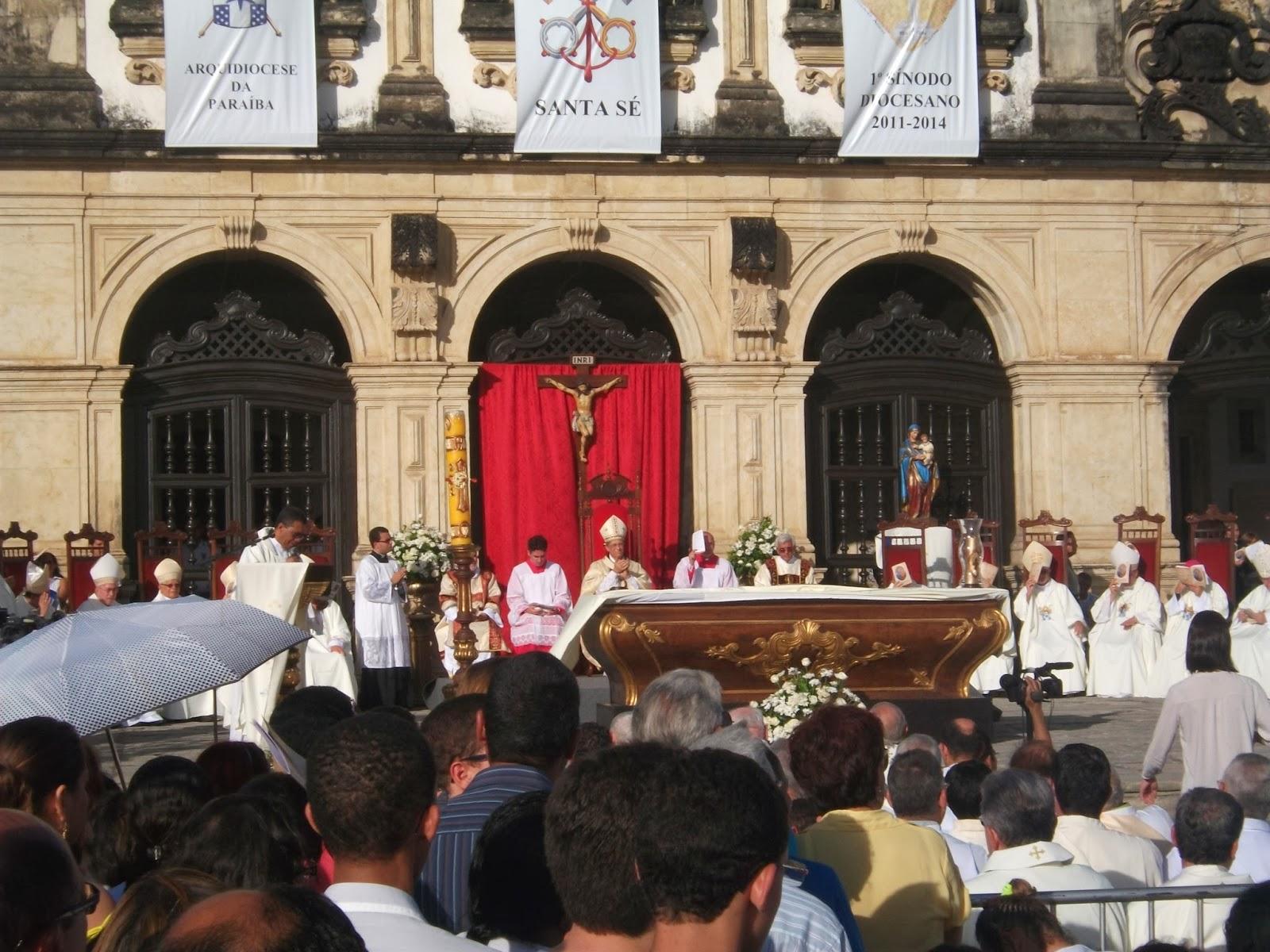 Missa em Comemoração dos 100 Anos da Arquidiocese da Paraíba