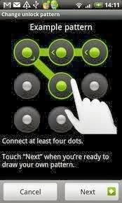 menjaga keamanan ponsel android menggunakan screen lock