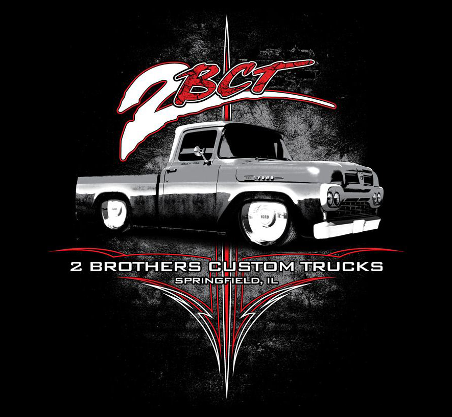 guy 2 brothers custom trucks brought a 1960 ford f100 to car pictures