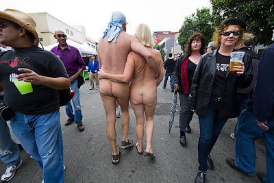 FOLSOM STREET FAIR, GOING BUTT NAKED IN SAN FRANCISCO!